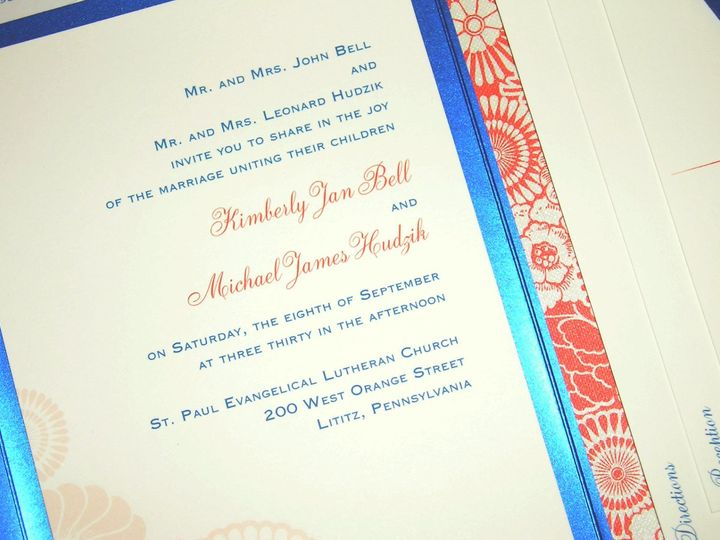 Tmx 1355178767448 151 Columbia wedding invitation