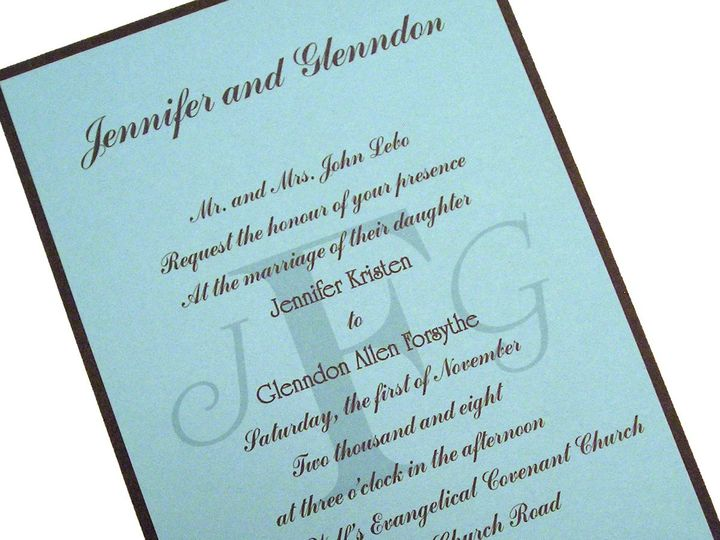 Tmx 1355179150590 1 Columbia wedding invitation
