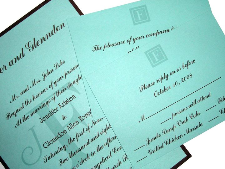 Tmx 1355179157620 2 Columbia wedding invitation
