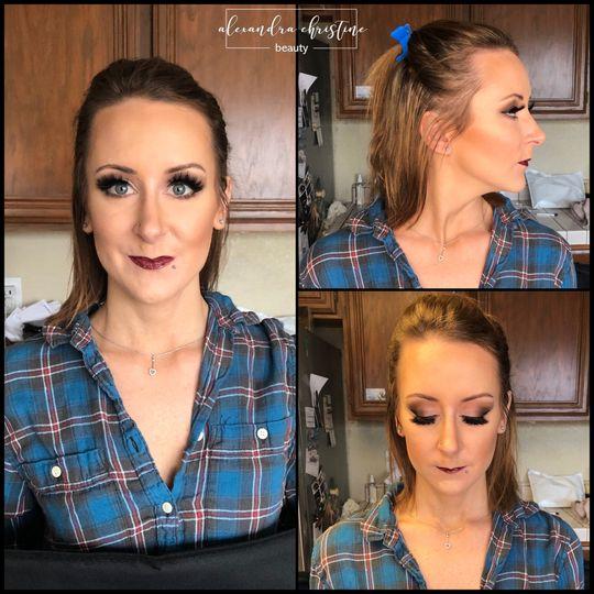 Engagement Shoot Makeup
