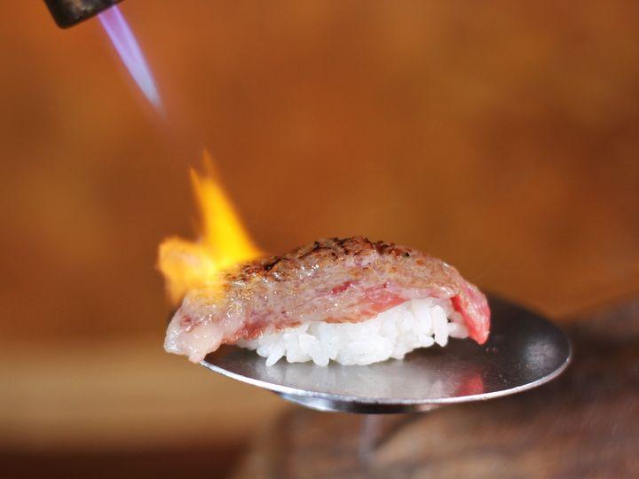 Tmx Torched Kobe Beef Nigiri 51 779498 159344846951390 Houston, TX wedding catering