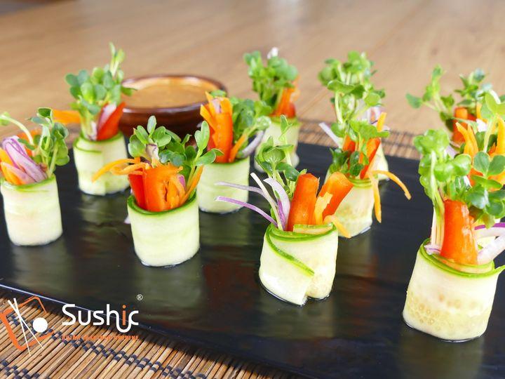 Tmx Vegetarian Roll With Peanut Sauce 51 779498 159344846978817 Houston, TX wedding catering