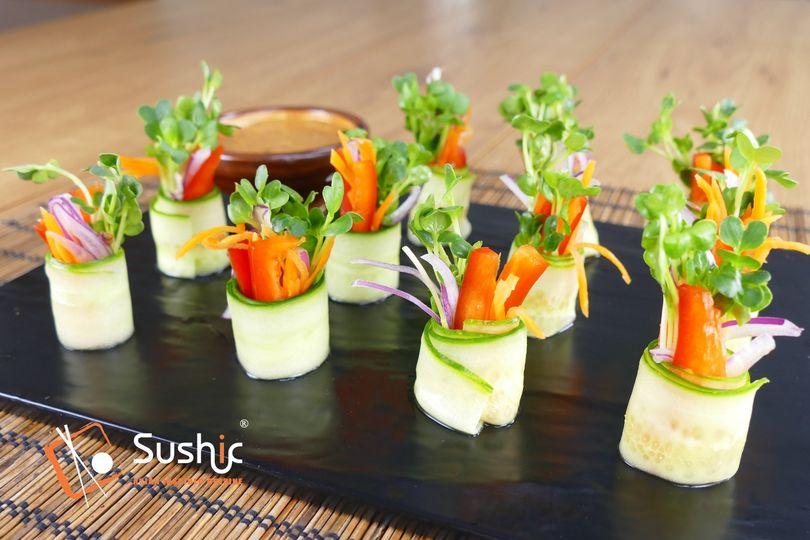 Vegetable wraps