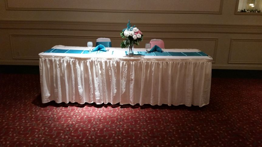 A closer view of the DJ table from a wedding earlier in 2015.