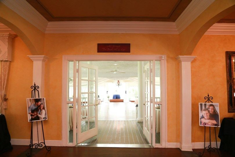 Big room entrance