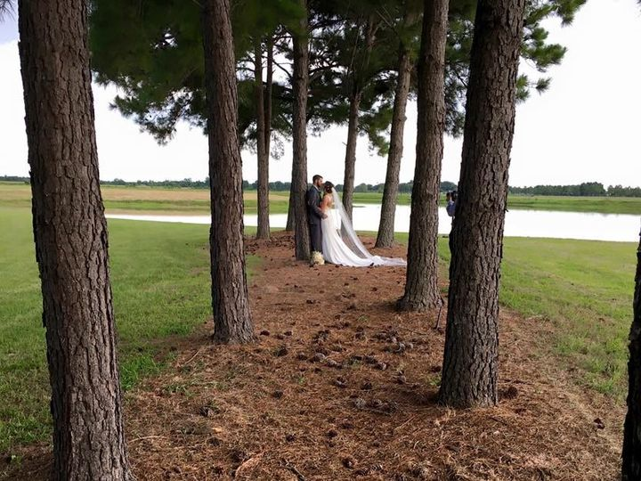 Tmx Embrace Under Pine Trees Next To Lake At House Plantation 51 3598 158268336310711 Hockley, TX wedding venue