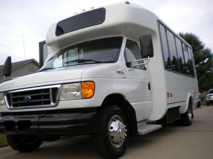 Beautiful 14 & 16 Passenger Limo Coach Buses