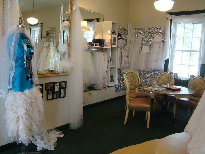 This is our custom veil corner!