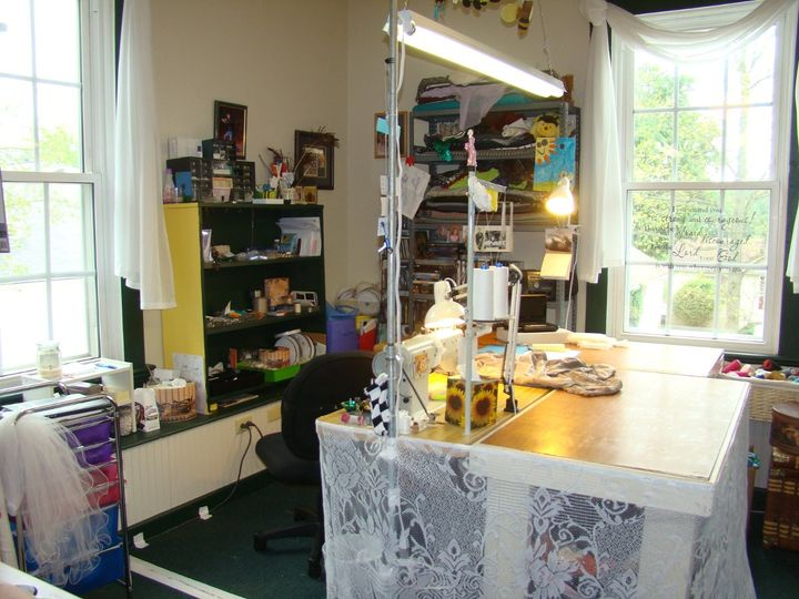 This is where all the magic happens once you turn your gown over to Melissa. She works hard to make...