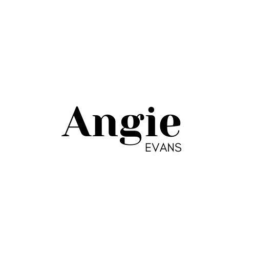 angie evans logo whtie back 51 994598 159181180433843