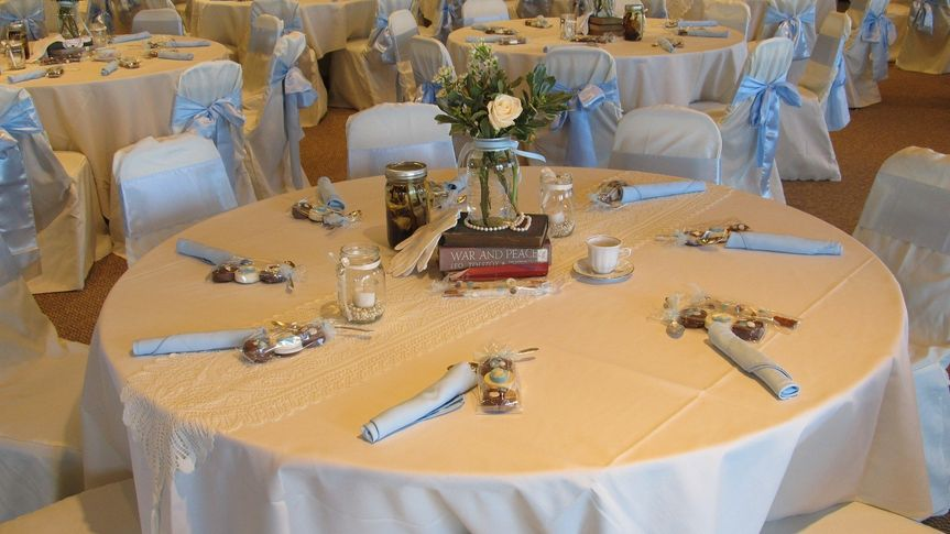 VOA MetroParks - Ronald Reagan Lodge Banquet Facility - Table setting