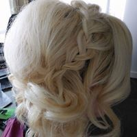Tmx 1507136082844 2017 Blonde Updo Baltimore, Maryland wedding beauty