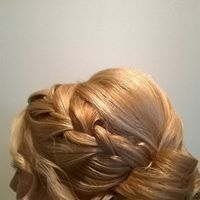 Tmx 1507136126071 2017 Blonde Updo3 Baltimore, Maryland wedding beauty