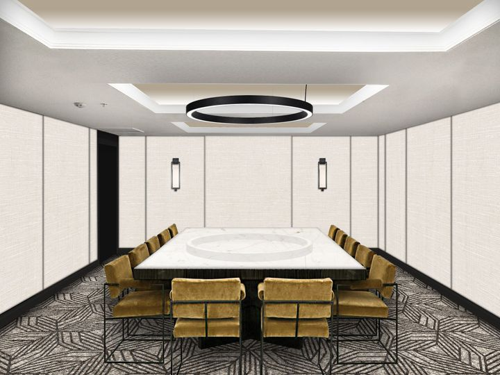 Private meeting room space