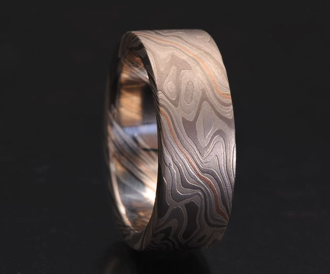 Custom Flat Wedding Band