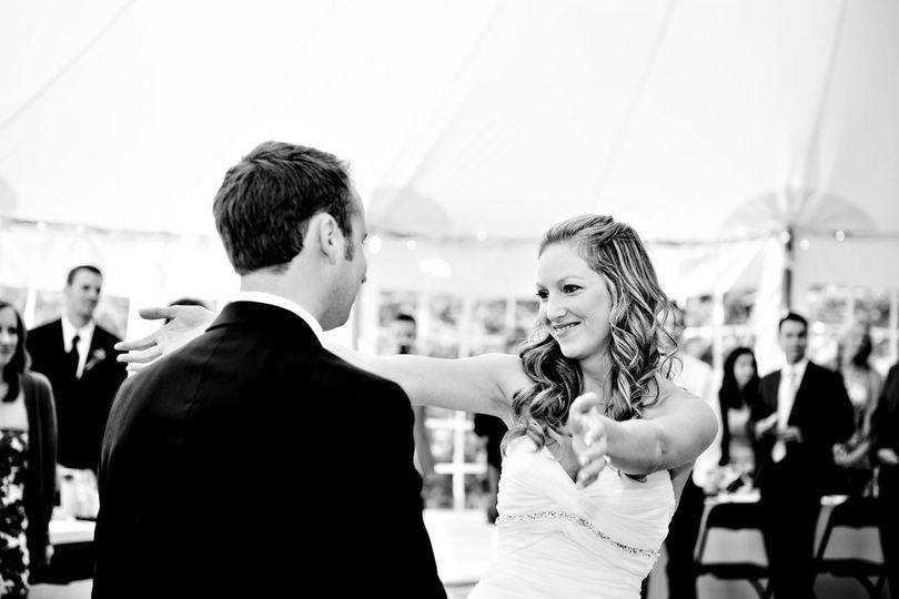 First dance photos Mountain weddings Tent weddings