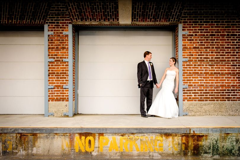 Boston weddings City wedding photography industrial wedding photography