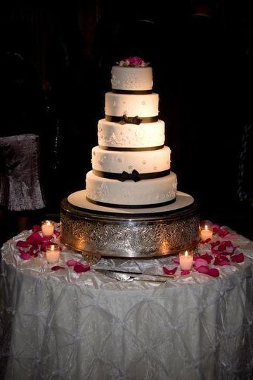 Multiple layered cake