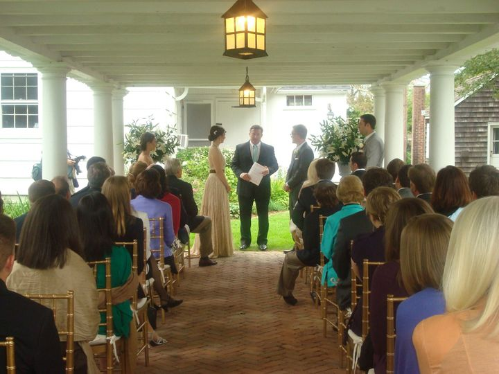 Rogers Mansion - Small Outdoor Ceremony
