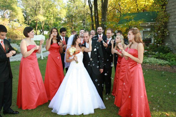 Tmx 1270829557764 Bubblebridalparty Coloma wedding videography
