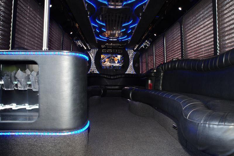 GMC 30 Passenger Bus Inside