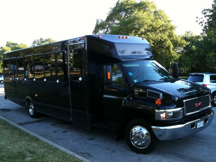 GMC 30 Passenger Bus
