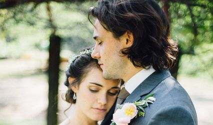 The wedding of Theo and Pam