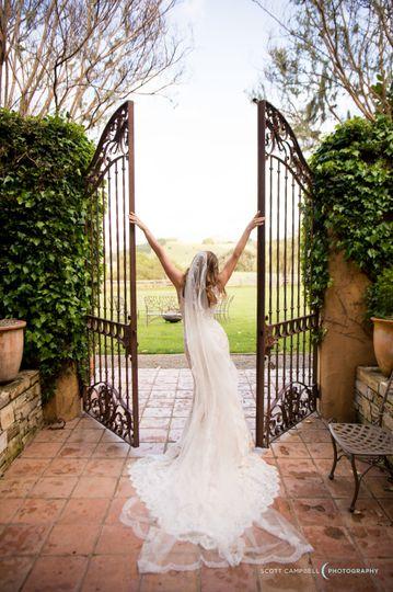 Bride at the Santa Lucia Preserve