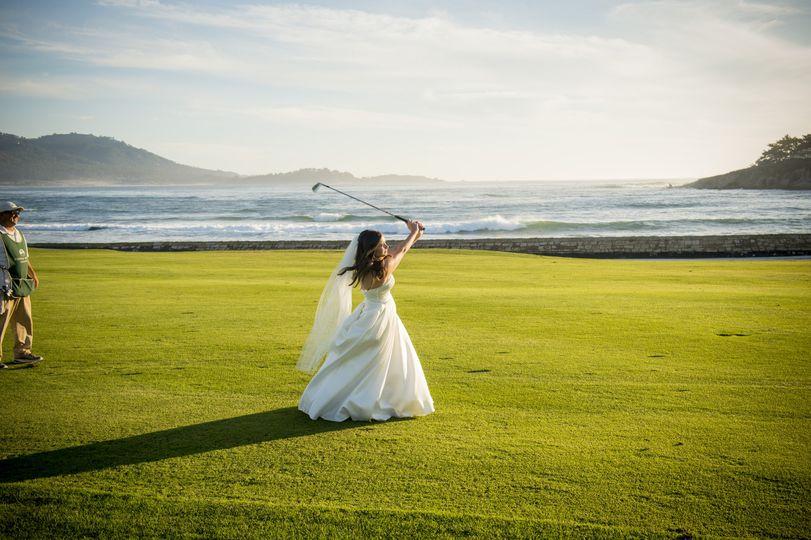 Pebble Beach Bride