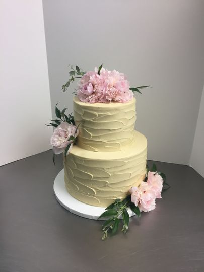 Wedding Cake by FlourGirl Patissier - Kelly & Dave