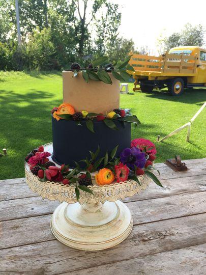 Wedding Cake by FlourGirl Patissier - Amanda & Gordon