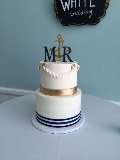 Wedding Cake by FlourGirl Patissier - Meg & Ron