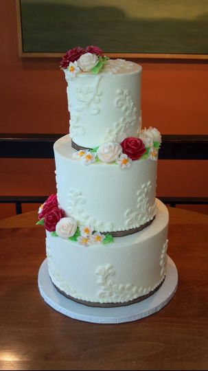 Wedding Cake by FlourGirl Patissier - Kelly & Jerold