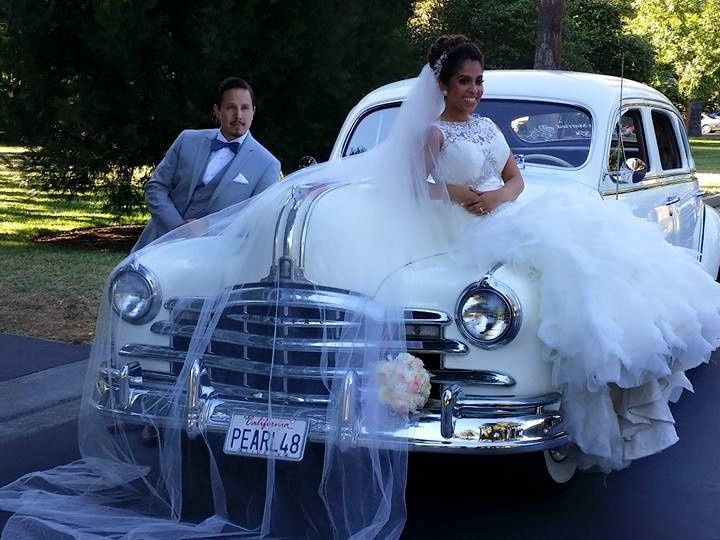 Tmx 1443837327347 Veil With Pearl Elk Grove, CA wedding transportation