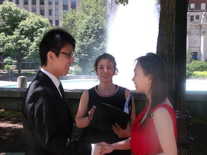 Tmx 1372271583038 Vistaprintwed2 Philadelphia wedding officiant