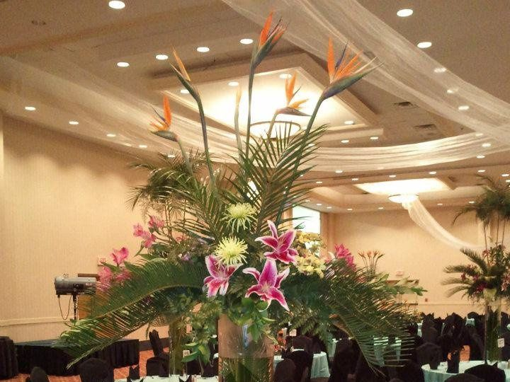 Tmx 1356801597181 GrandBallroombuffetsetKODYfallball Panama City Beach, FL wedding venue
