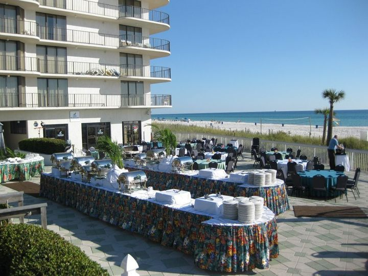 Tmx 1356801614261 Pooldeck2doublebuffets Panama City Beach, FL wedding venue