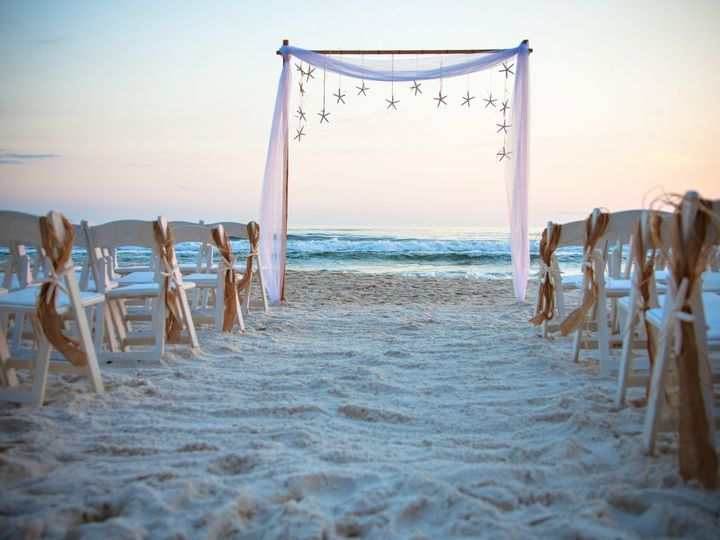 Tmx 1369749444679 Bamboo Arch Starfish Panama City Beach, FL wedding venue