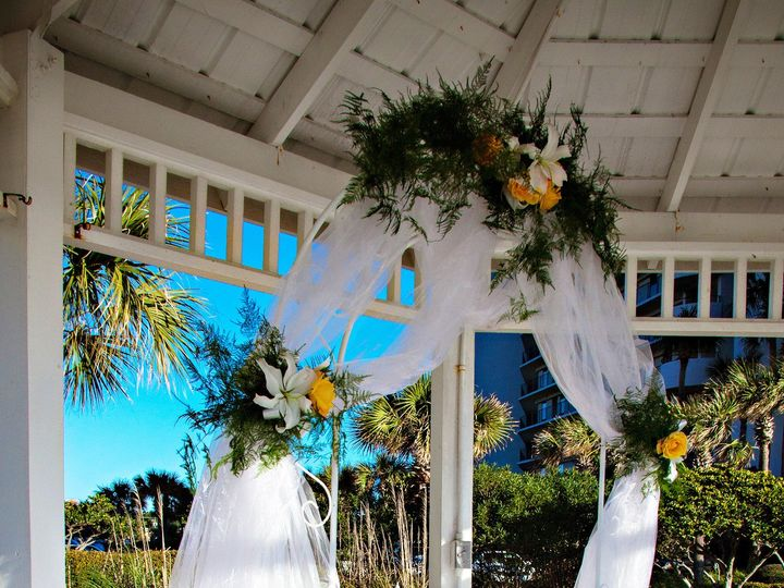 Tmx 1369749463566 Metal Frame Arch Panama City Beach, FL wedding venue