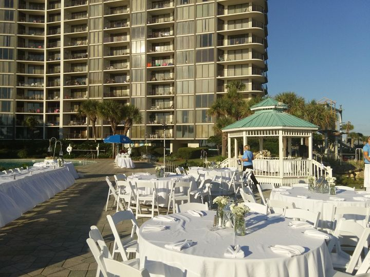 Tmx 1521738222 9a4d853fbe6671aa 1521738218 8b466e25fe9caf5a 1521738208169 6 Edgewater Pool Dec Panama City Beach, FL wedding venue