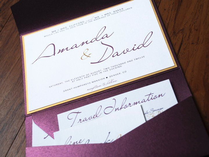 Tmx 1342972572856 Inside Fort Collins wedding invitation