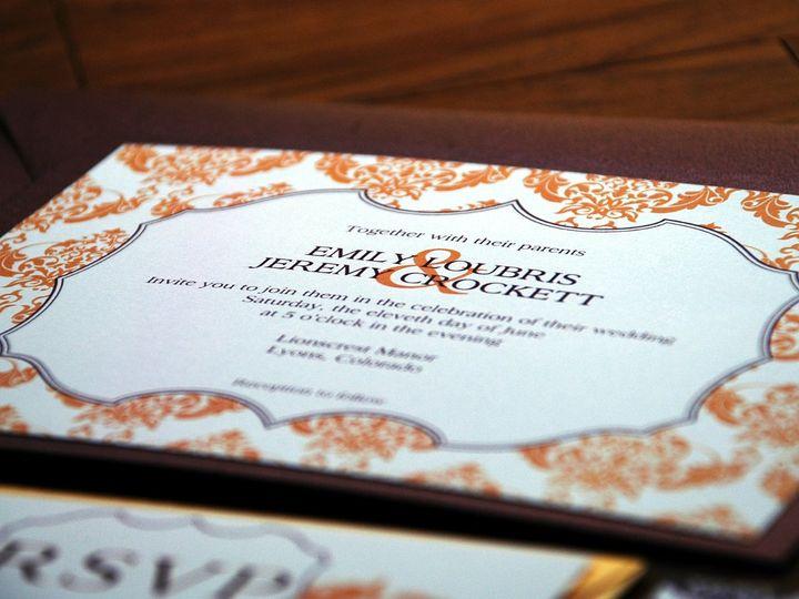 Tmx 1342972666913 95x7 Fort Collins wedding invitation