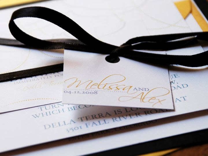 Tmx 1342972871734 505x7 Fort Collins wedding invitation