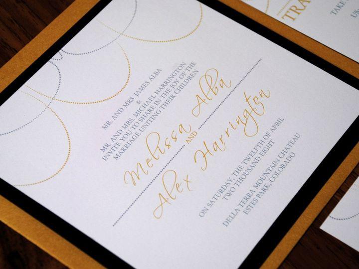 Tmx 1342972881069 595x7 Fort Collins wedding invitation