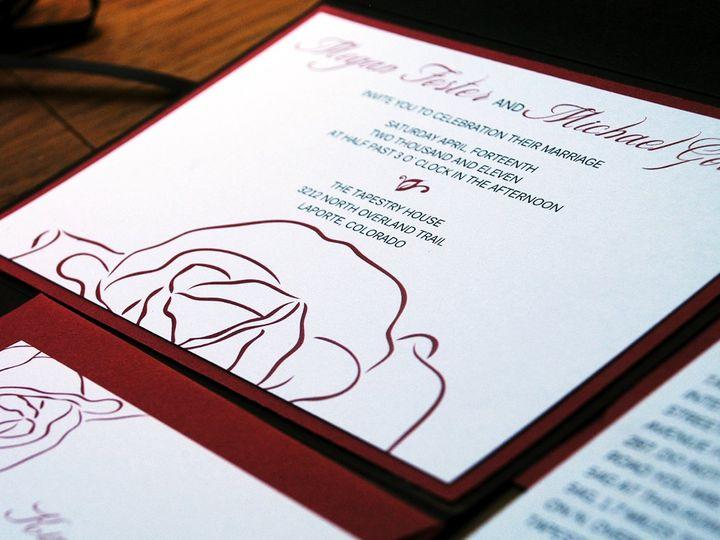 Tmx 1342972897592 195x7 Fort Collins wedding invitation