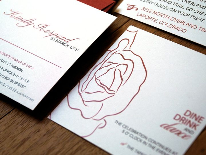 Tmx 1342972907735 205x7tu Fort Collins wedding invitation