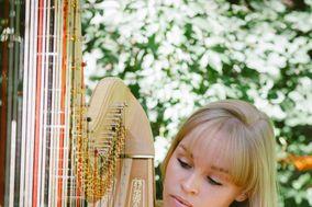 Annie Clark Harpist