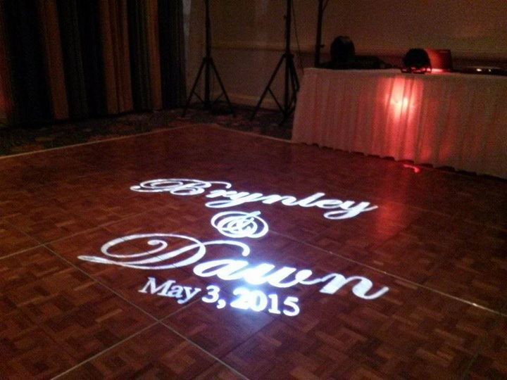 Tmx 1434397469885 Monogram Name Projector Naples wedding dj