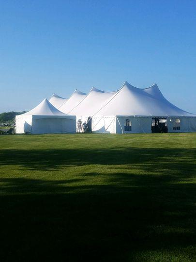 60' x 100' High Peak Tent