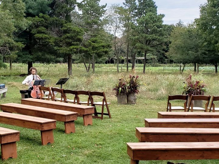 Tmx Chairs 8 Wood Bench Ceremony 51 76698 1569428081 Medford, NY wedding rental